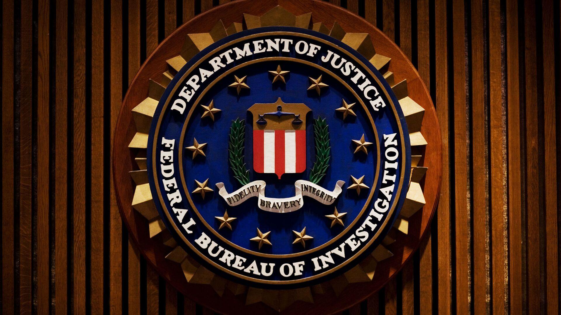 Emblema dell'FBI - Sputnik Italia, 1920, 31.05.2021