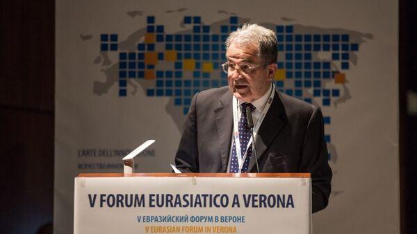 Romano Prodi al forum di Verona - Sputnik Italia