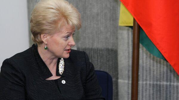 Dalia Grybauskaitė, presidente della Lettonia - Sputnik Italia
