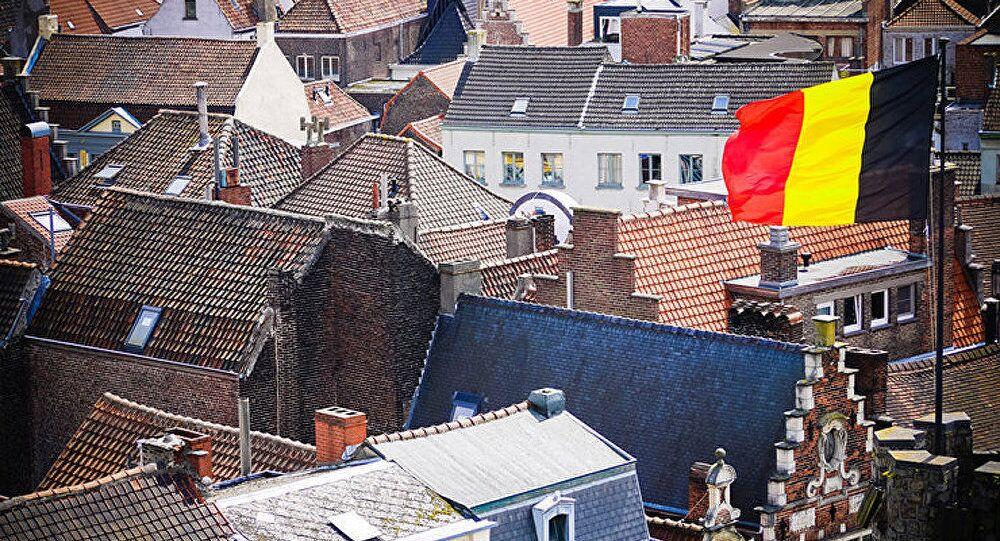 La bandiera belga