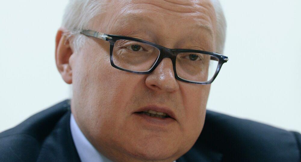 Vice Ministro delgi Esteri russo Sergey Ryabkov