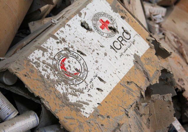 Croce Rossa e Mezzaluna Rossa, Aleppo, Siria