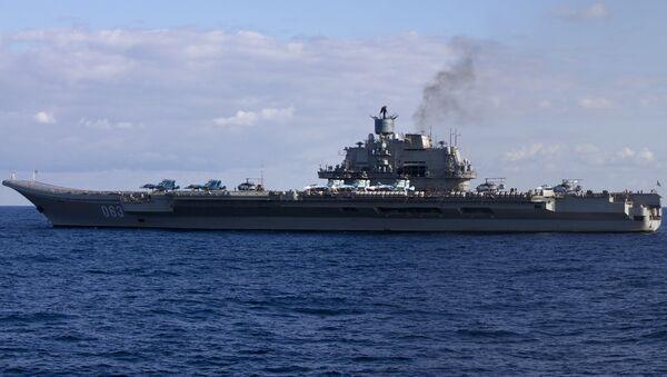 Portaerei Ammiraglio Kuznetsov - Sputnik Italia