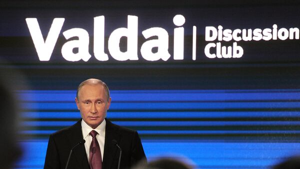 Vladimir Putin interviene al forum Valdai - Sputnik Italia