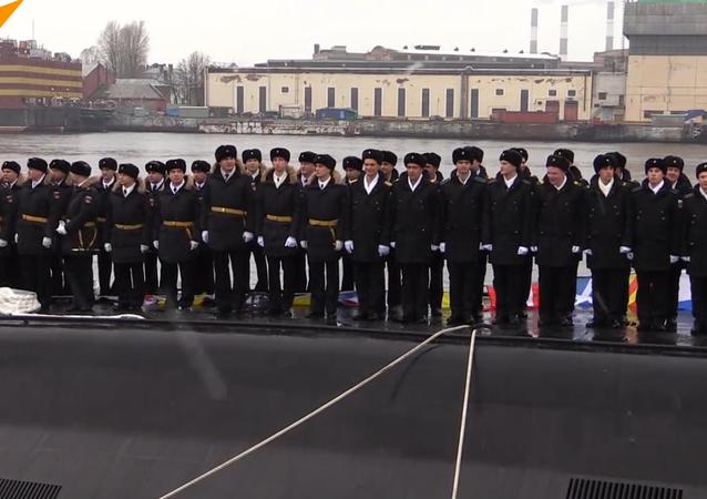 il sommergibile Velikiy Novgorod