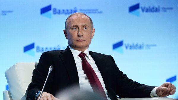 Vladimir Putin alla 13esima sessione del Club Valdai - Sputnik Italia
