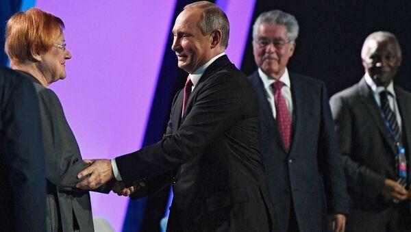 Vladimir Putin alla 13esima sessione del Valdai Club - Sputnik Italia