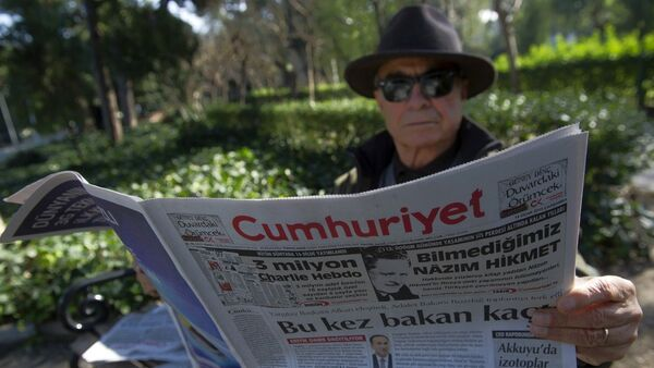 Il giornale turco d'opposizione Cumhuriyet - Sputnik Italia