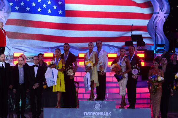 Mondiali di danze latino-americane al Cremlino di Mosca. - Sputnik Italia