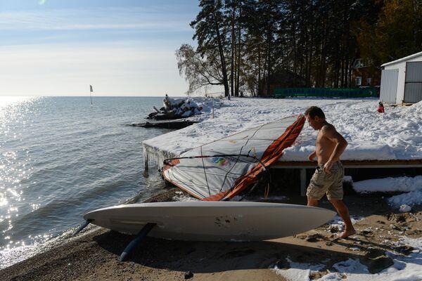 Windsurf a Novosibirsk - Sputnik Italia