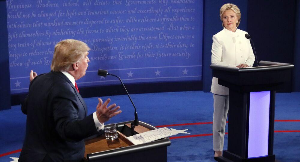 Dibattito tra Donald Trump e Hillary Clinton