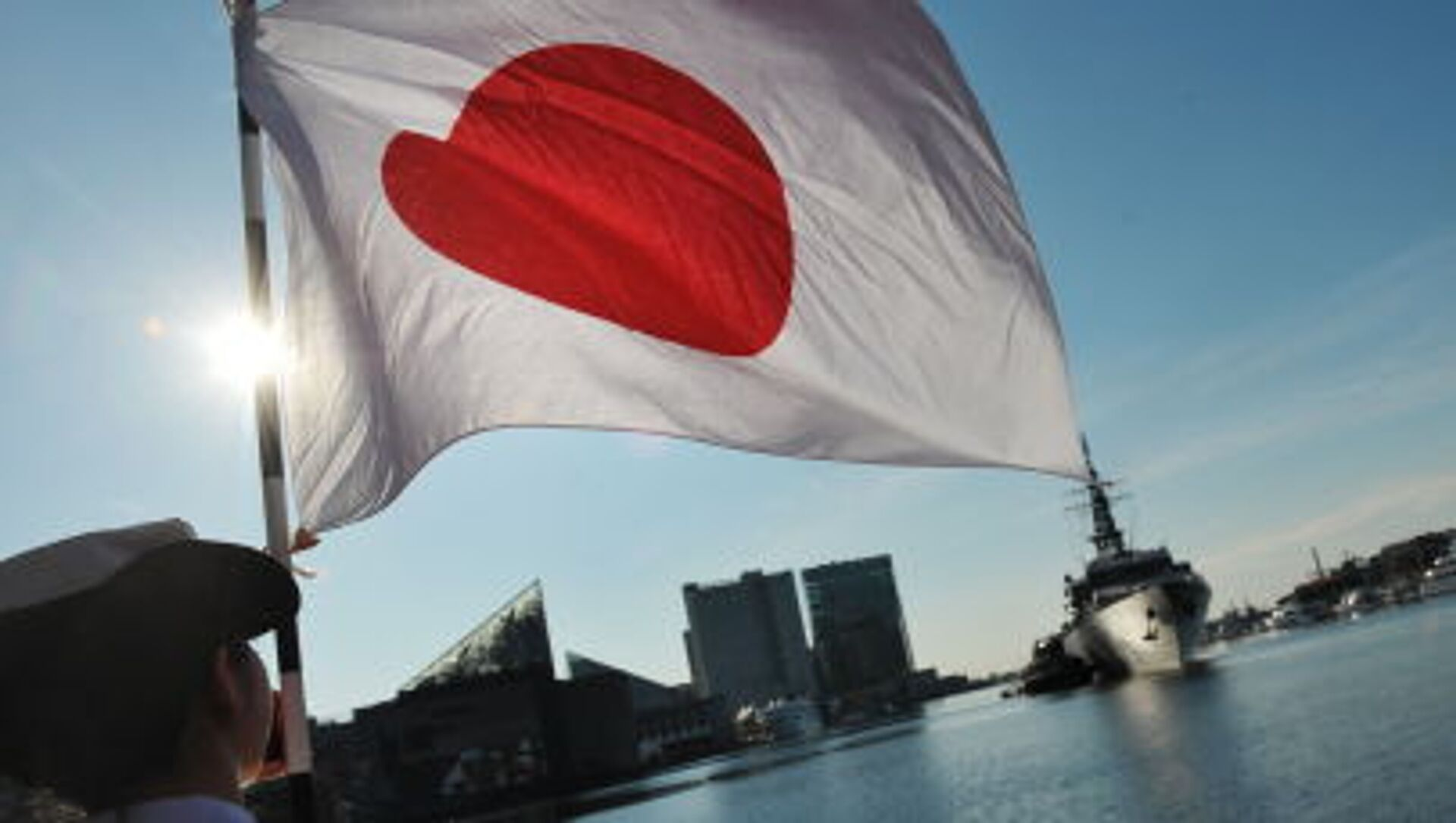 Bandiera giapponese - Sputnik Italia, 1920, 21.03.2021