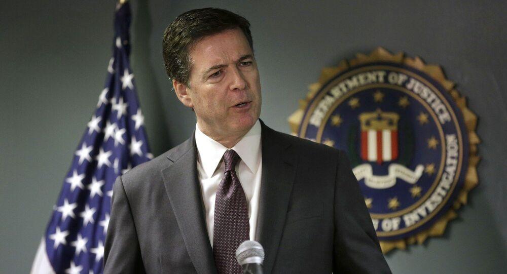 Direttore dell'FBI James Comey