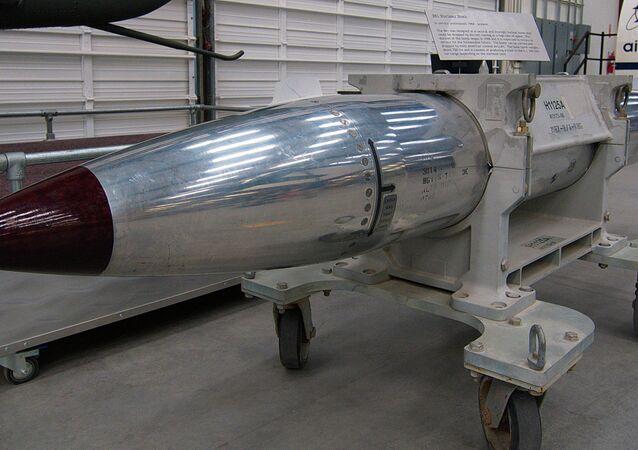 Bomba nucleare americana B61 (foto d'archivio)