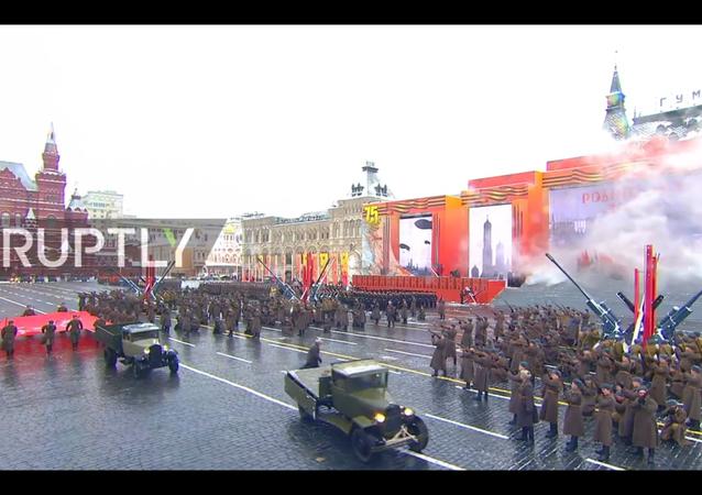 Parata del 7 novembre a Mosca