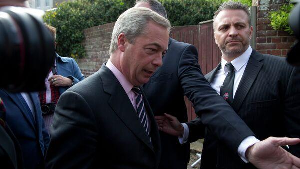 Nigel Farage, UKIP - Sputnik Italia