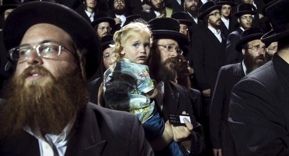 Ebrei celebrano Lag Ba'Omer