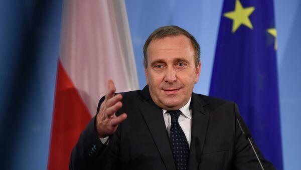 Ministro degli Esteri della Polonia Grzegorz Schetyna - Sputnik Italia