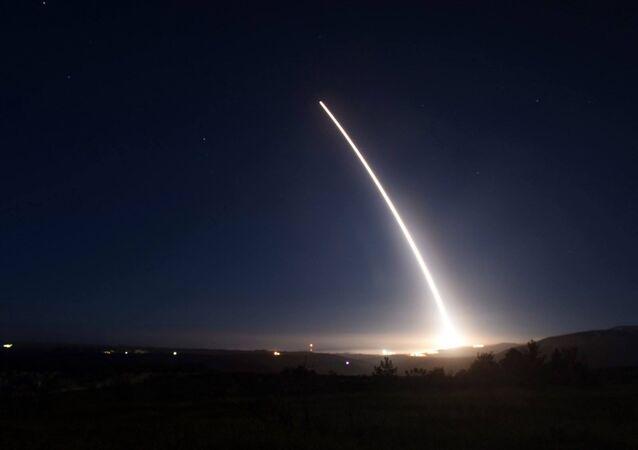 Lancio di prova di un Minuteman III negli Usa