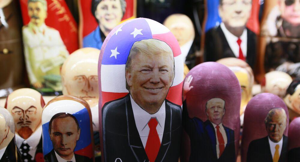 Una matrioska dedicata a Donald Trump