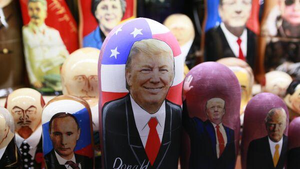 Una matrioska dedicata a Donald Trump - Sputnik Italia