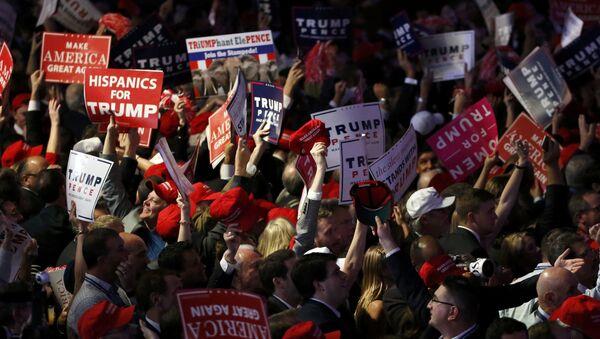 Sostenitori di Trump - Sputnik Italia