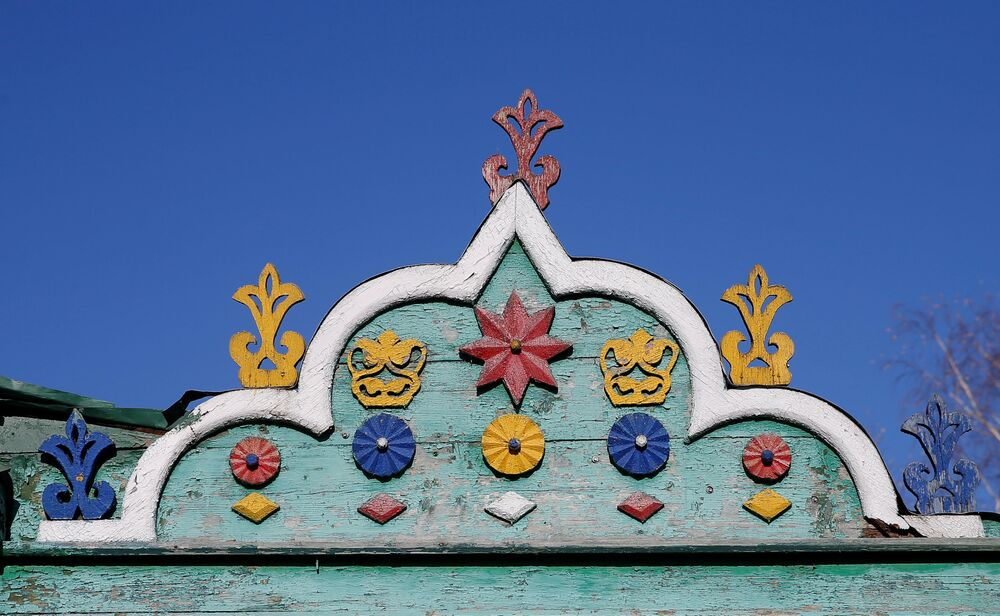L' architettura tradizionale russa