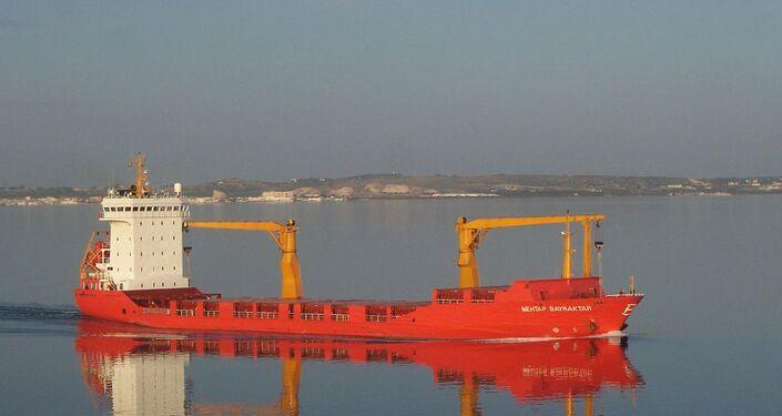 La nave Mehtap Bayraktar