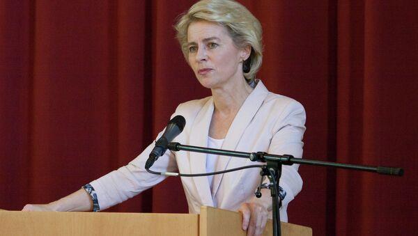 German defense minister Ursula von der Leyen - Sputnik Italia
