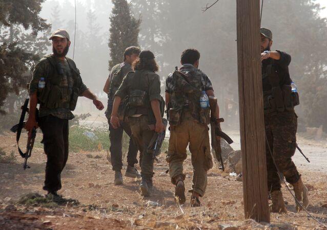 Militanti dell'Al-Nusra Front