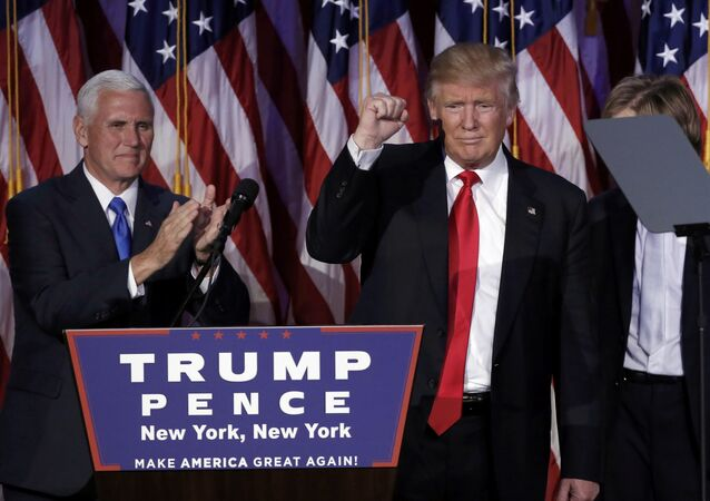 Mike Pence e Donald Trump (foto d'archivio)
