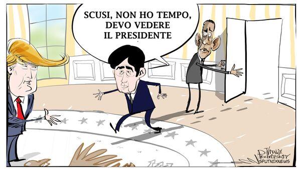 Incontro Abe-Trump - Sputnik Italia