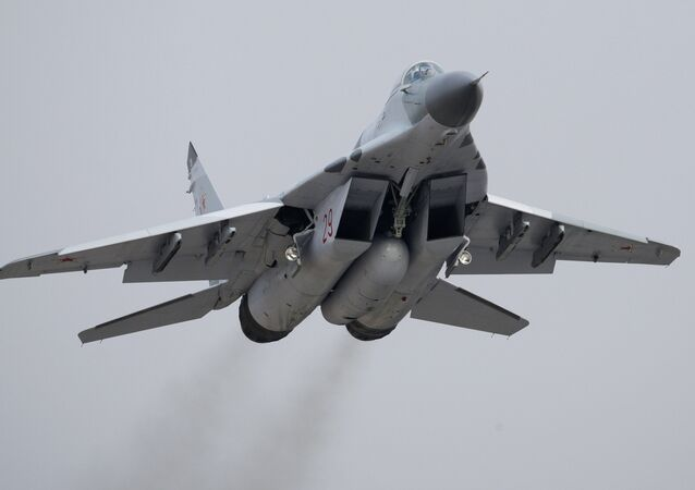 Mikoyan MiG-29 jet fighter aircraft
