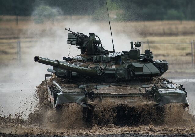 Tank russo T-90
