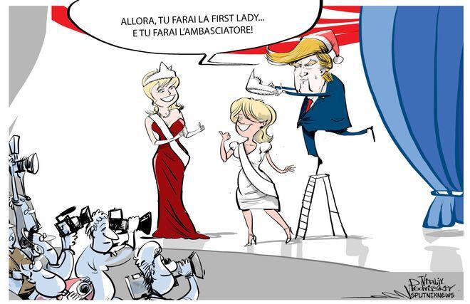 Trump e le sue donne