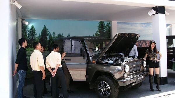 Fuoristrada Uaz al Vietnam International Motor Show 2016 - Sputnik Italia
