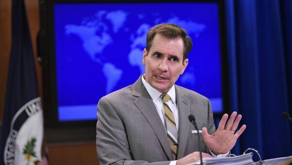 Portavoce del Dipartimento di Stato americano John Kirby - Sputnik Italia