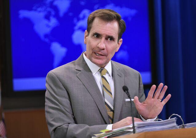 Portavoce del Dipartimento di Stato americano John Kirby