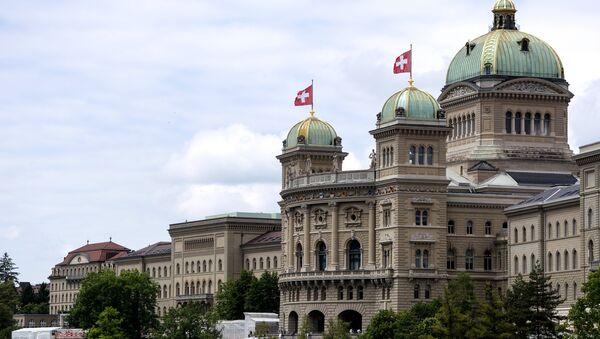 The Federal Palace (Parliament) in Bern, Switzerland. (File) - Sputnik Italia