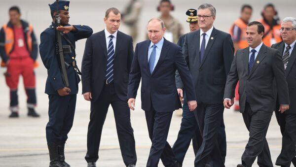 Putin arriva a Lima per il summit Apec - Sputnik Italia