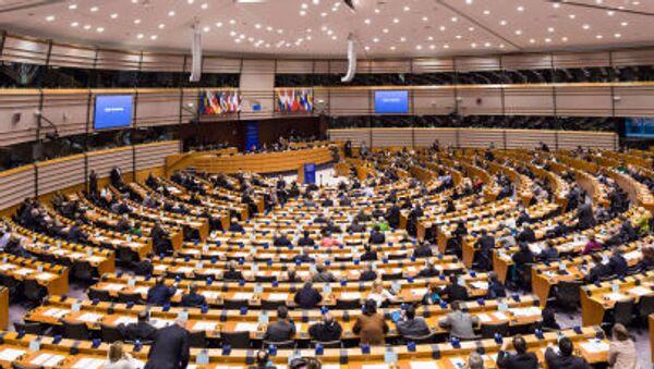 La riunione del Parlamento Europeo a Bruxelles - Sputnik Italia