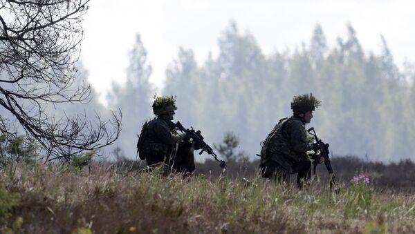 Esercitazioni della NATO in Lettonia - Sputnik Italia