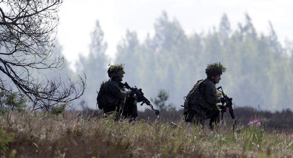 Esercitazioni della NATO in Lettonia