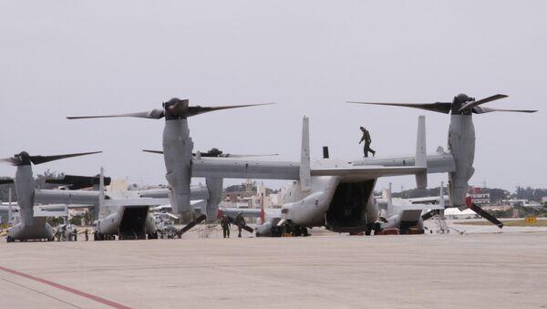 Marine Corps Air Station Futenma, Okinawa. - Sputnik Italia