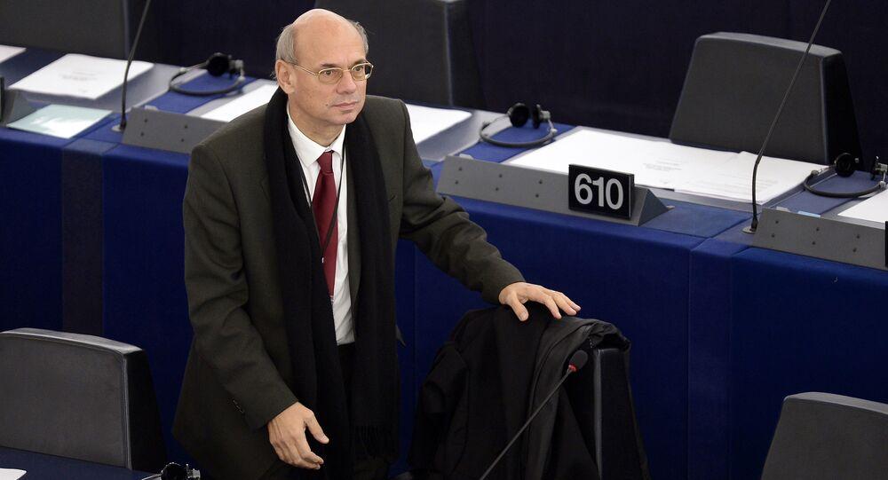 Eurodeputato francese Jean-Luc Schaffhauser