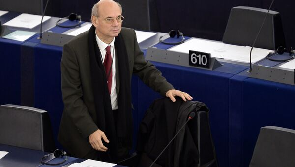 French European Parliament member Jean Luc Schaffhauser - Sputnik Italia