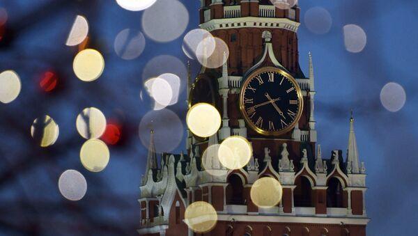 Mosca, GUM durante l'inverno - Sputnik Italia