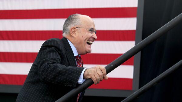 L'ex sindaco di New York Rudy Giuliani - Sputnik Italia
