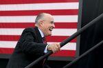 L'ex sindaco di New York Rudy Giuliani