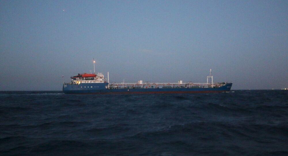Nave cisterna russa